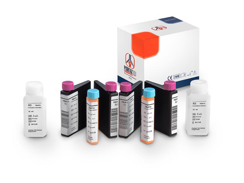 کیت بیوشیمی HbA1c پیشتاز طب