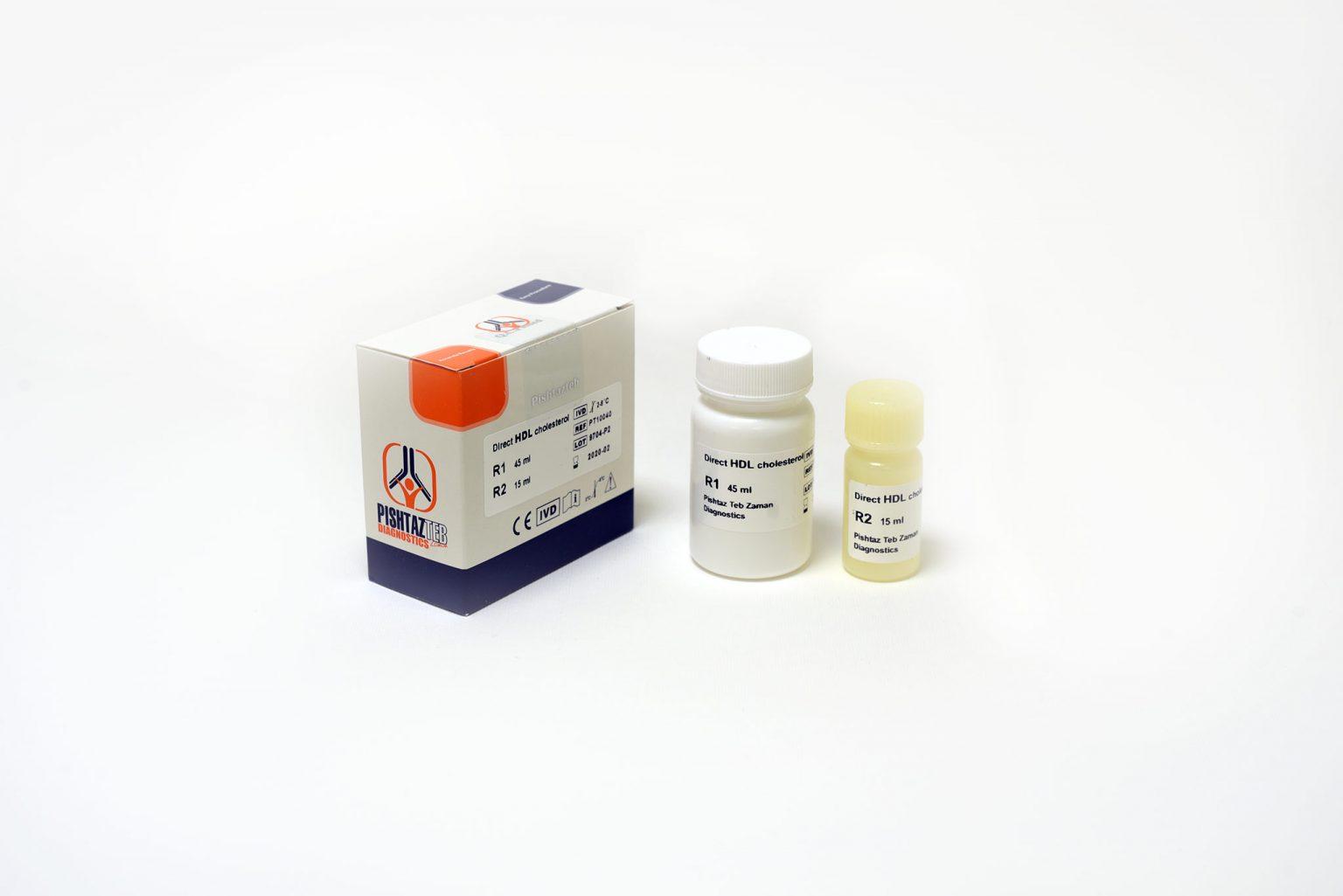کیت بیوشیمی H911-912 / HDL پیشتاز طب