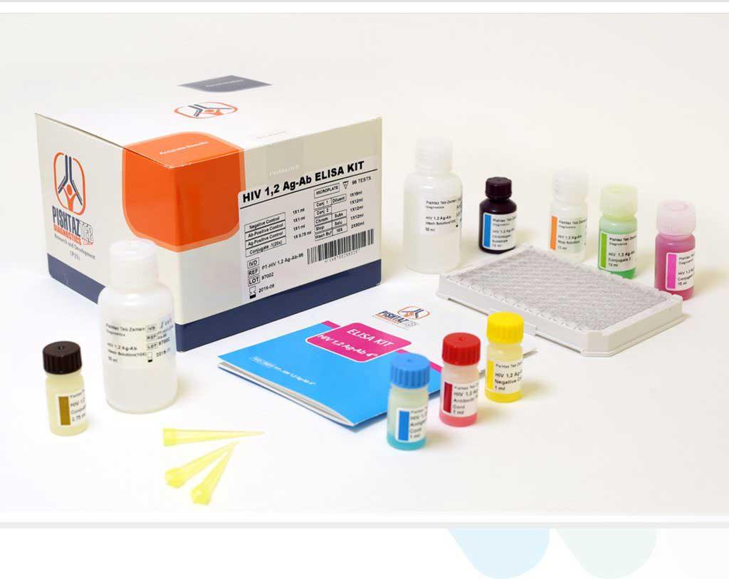 سنجش آنتی بادی علیھ آنتی ژنھایHIV به روش الایزا